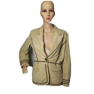 Stetson Womens 100% Genuine Leather Jacket